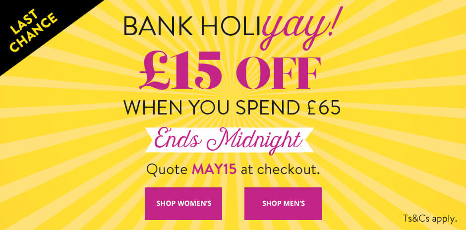 UK - Promo 2 - Bank Holiday Offer