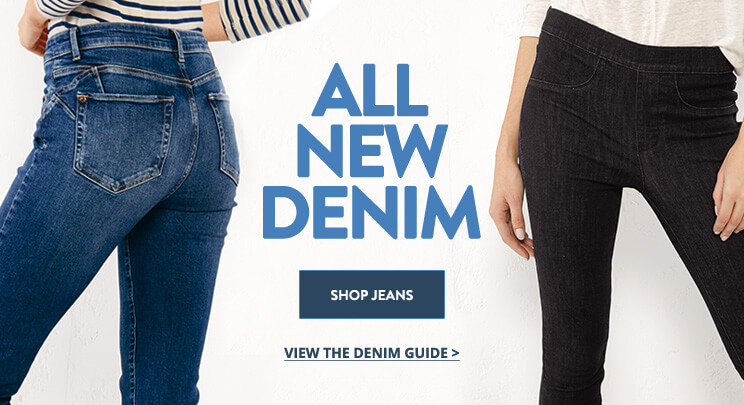 UK - AB - Banner 2 - Shop Women's Denim